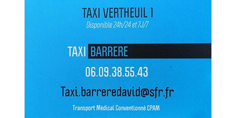 logo TAXI BARRERE