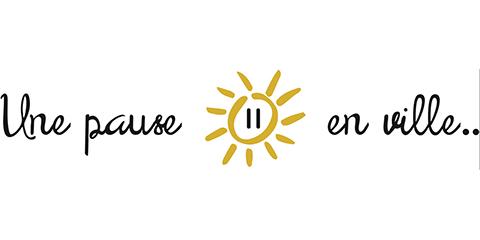 logo UNE PAUSE EN VILLE